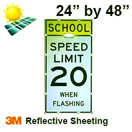 Solar SCHOOL SPEED LIMIT XX (S5-1) Diamond Grade DG3