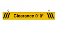 Clearance Bar (5 Feet)