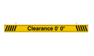 Clearance Bar (6 Feet)