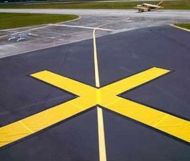 FAA Taxiway Closure X Marker - Economy 5x30 Yellow