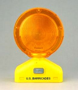 D-Cell LED Barricade Light