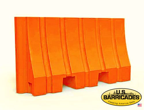 """Plastic Water/Sand Barrier 42""""H x 72""""L"""