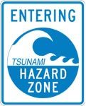 ENTERING TSUNAMI HAZARD ZONE (EM-1C)