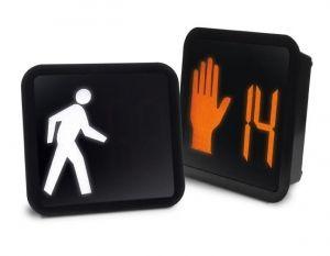 LED Pedestrian Countdown Signal 16x18
