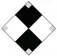 Marine Daymark - Black & White