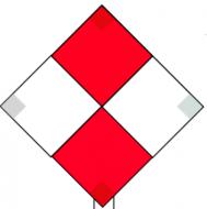 Marine Daymark - Red & White