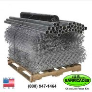Galvanized Steel Chain Link Fence Kit - 200ft