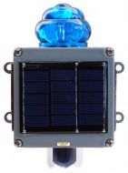 Blue Flag Railroad Light (Solar)