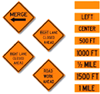 Traffic Signs - Roll-Up