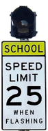 School Zone Flashing Beacon System (AC)