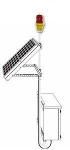 Solar Powered Obstruction Light (FAA L-810)