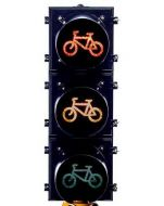 Bicycle Traffic Signal 200mm - Aluminum