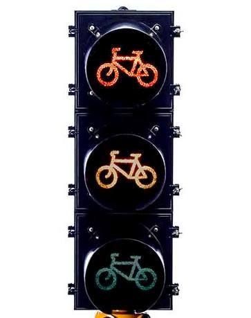 Bicycle Traffic Signal 200mm - Aluminum