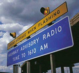 Highway Advisory Warning Beacon & Radio Systems