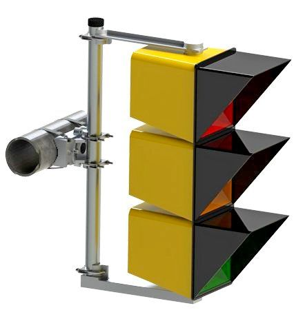Mast Arm Signal Mounting Hardware - 3M Signals