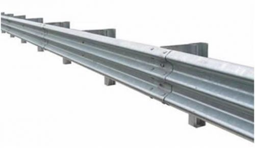 Highway Guardrail (Three-Beam) 12gu Galvanized