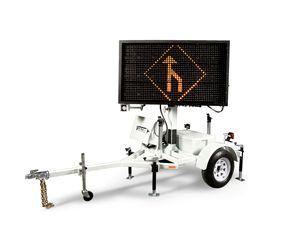 Solar Powered Portable Matrix Message Board
