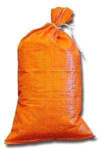 Orange 14x26 Polypropylene Sandbag