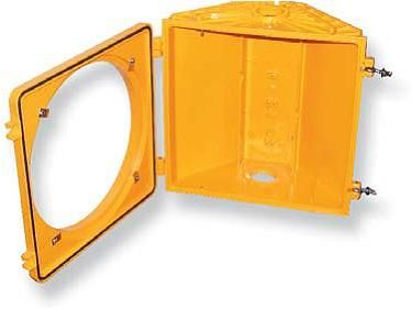 Traffic Signal Housings - McCain - Polycarbonate 200mm