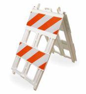 Type II Barricade (8x24 panel) Plastic